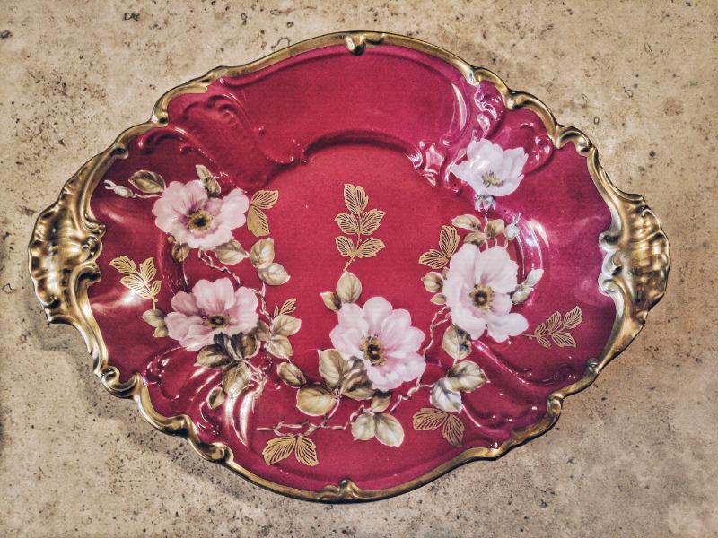 Centro de mesa porcelana de Bavaria