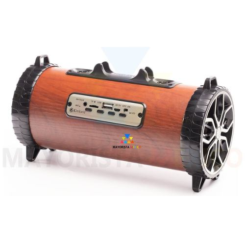 Kk Retro Bocina Portátil Bazooka Radio Bluetooth Mp3 M05