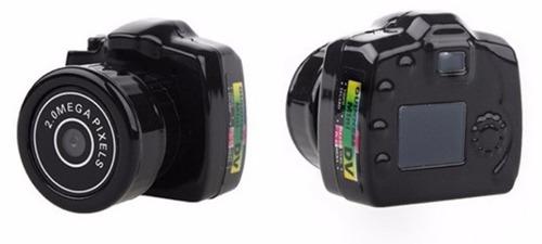 Mini Camara Espia Digital 2mpx Graba Video Toma Fotos