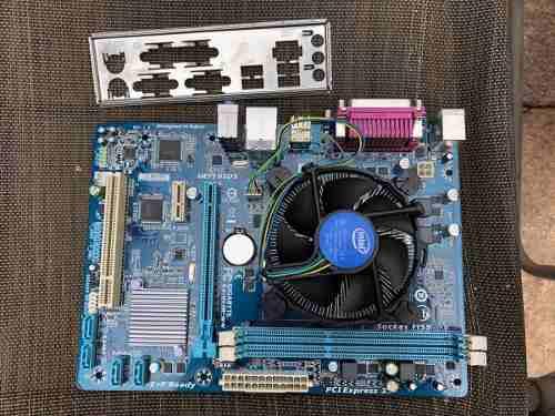 Motherboard Con Procesador Intel Core I5 Segunda Generacion