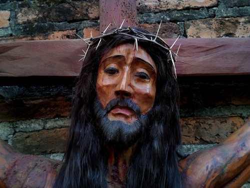 Cristos De Madera De 1.60m | Hacienda Rancho Iglesia Capilla