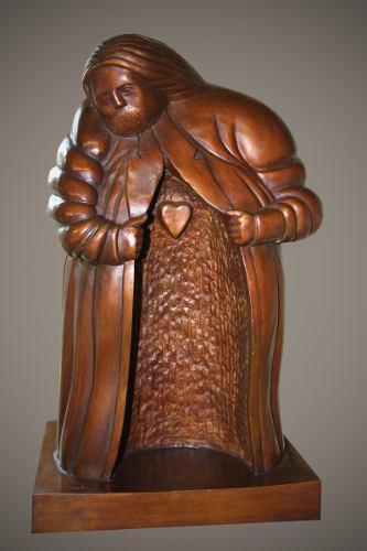 Escultura Bronce Maestro Pereznieto
