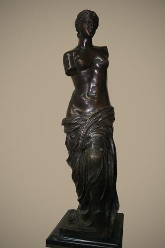 Escultura Bronce Venus De Milo Chica