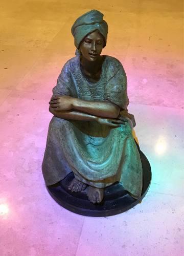 Escultura De Bronce De Victor Gutiérrez 1989 Con Cert Y
