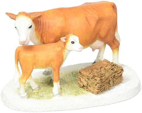 Figura Decorativa Vaca Y Su Ternera P/ Villa Envio Gratis
