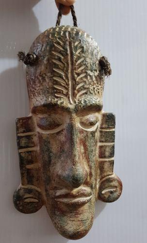Mascara De Barro Figura Prehispanica Artesania Mexicana 04