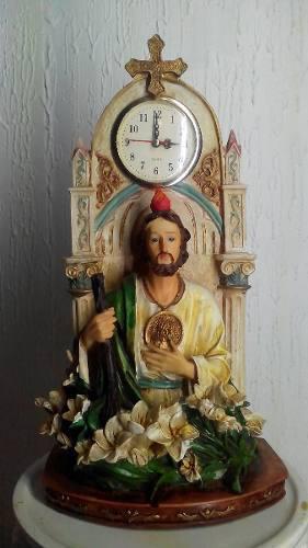 Reloj Religioso Imagen San Judas Tadeo