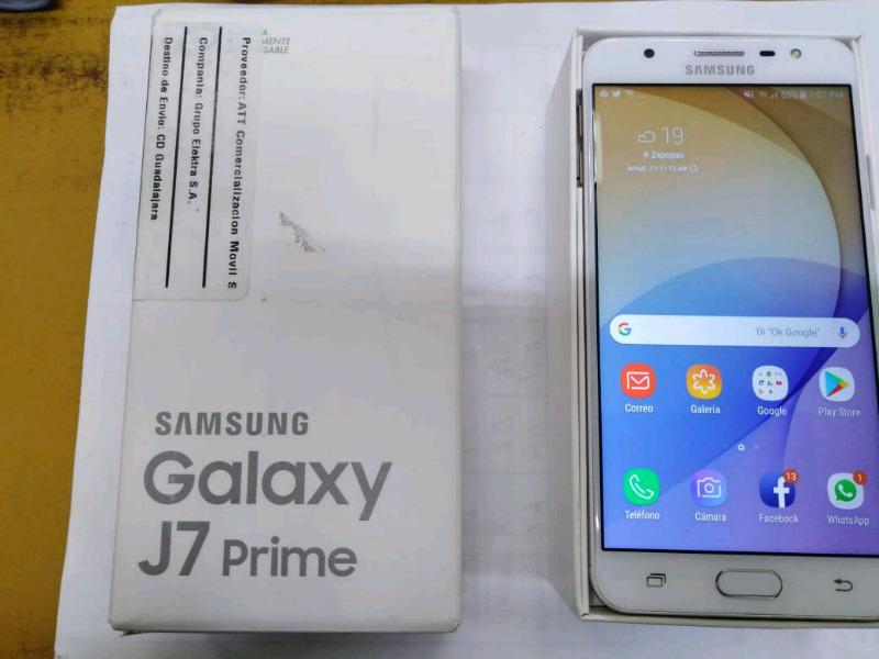Samsung galaxy J7 prime dorado libre de fabrica 16gb