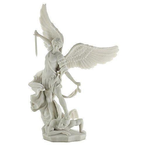San Miguel El Arcángel Estatua Escultura San Por Etiqueta