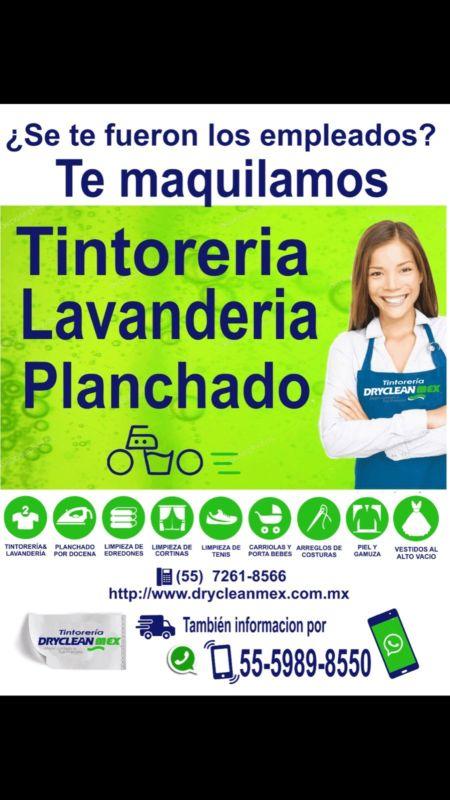 Servicio de Maquila a Tintorerias Lavanderías Planchadurias