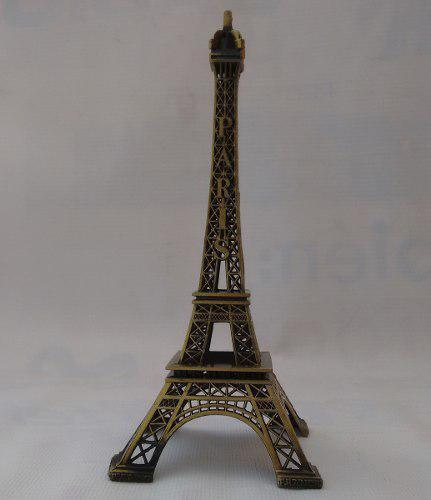 Torre Eiffel De Metal 19 Cm