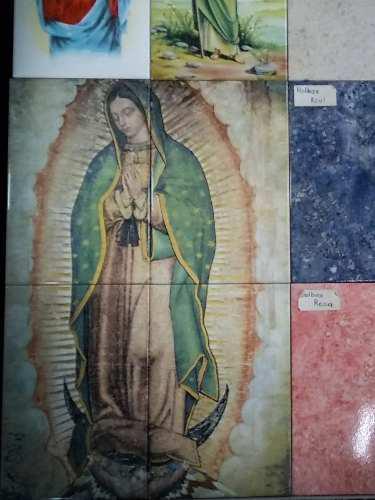 Virgen De Guadalupe Azulejo 40x60cm