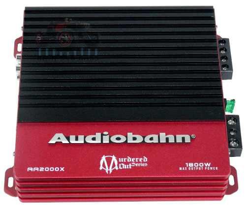 Amplificador Audiobahn Fuente 2 Canales Murder 1800w