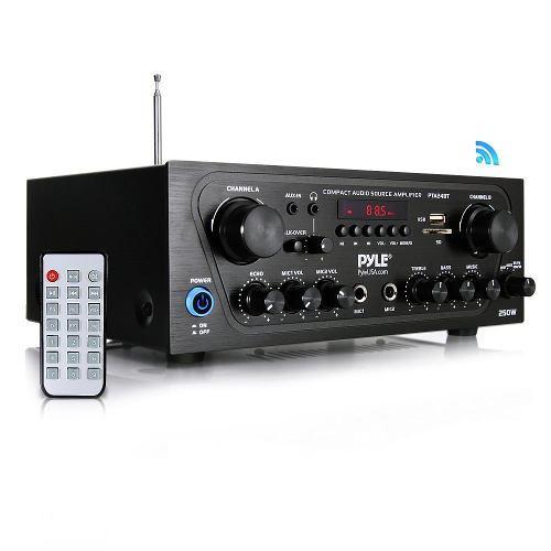 Amplificador Bluetooth Audio Estéreo 2 Canales Pyle Pta24bt