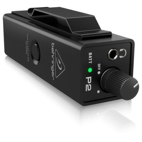 Amplificador De Audifonos Monitor Behringer Ultracompacto P2