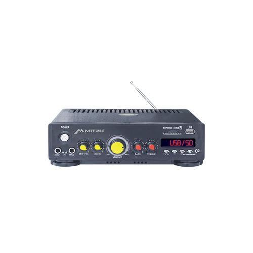 Amplificador De Audio 180 W Pmpo 2 Canales Pa-620usb Mitzu