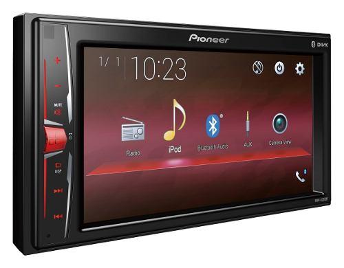 Auto Estéreo Pioneer Mvh-a205bt Bluetooth 2 Din Ipod Iphone