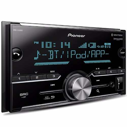 Autoestéreo Pioneer Mvh-s600bs Bluetooth Doble Din New