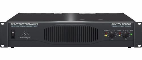 Behringer Ep4000 Amplificador De Audio 4000 Watts Meses S/i