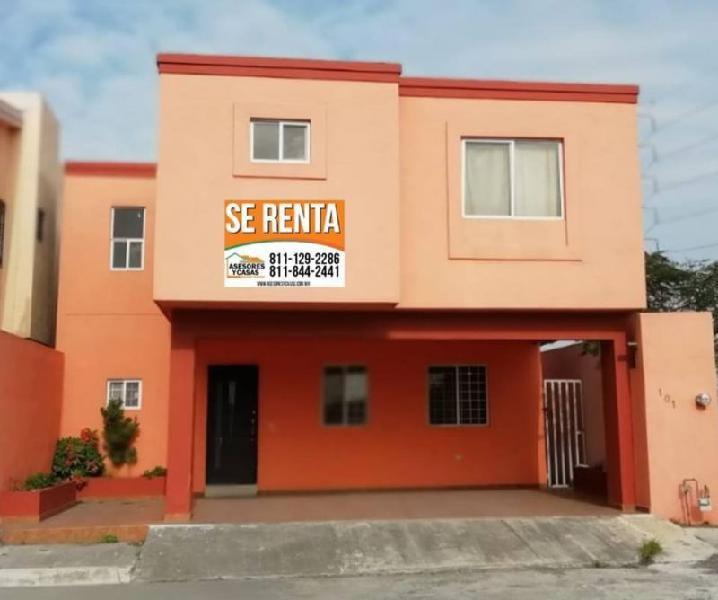 CASA EN RENTA ZONA CENTRO DE APODACA (RINCONADA COLONIAL)