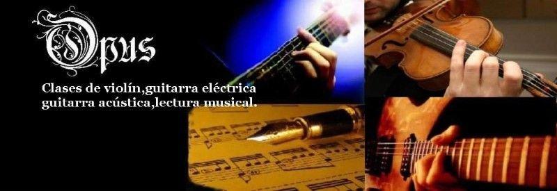 CLASES DE VIOLIN Y GUITARRA ELÉCTRICA/ACÚSTICA
