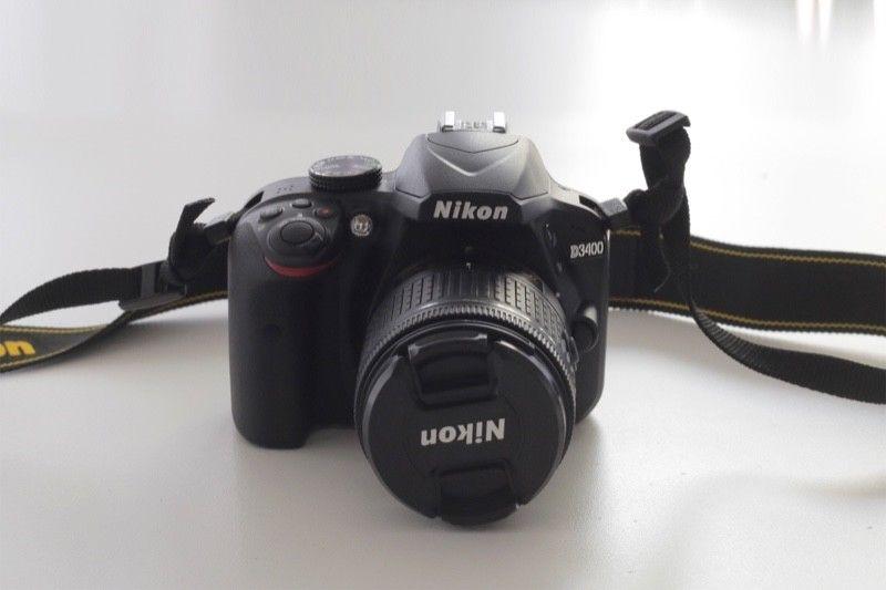 Camara Nikon D y lente