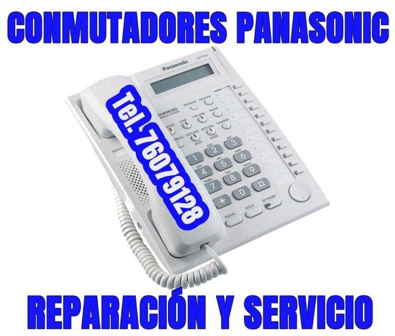 Conmutadores Panasonic, Venta y Reparación