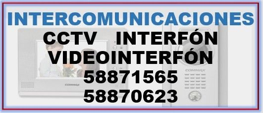 Interfón - Anuncio publicado por CCTV e Interfonos