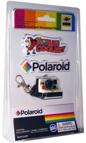 Llavero Cámara Polaroid Mini Keychain Vintage Polaroid B4u