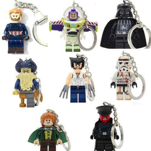 Llavero F Lego Skywalker, Starwars, Toy Story Piratas Caribe