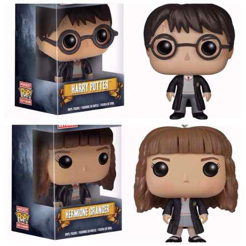 Llavero Funko Pocket Pop Harry Potter Hermione A Elegir