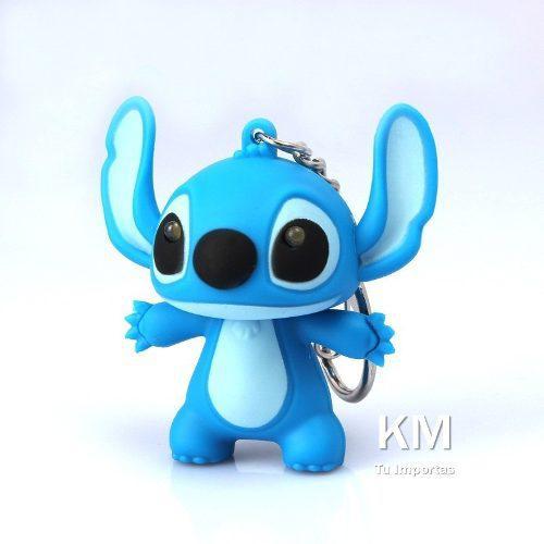 Llavero Led De Stitch Con Sonido Y Luz!!