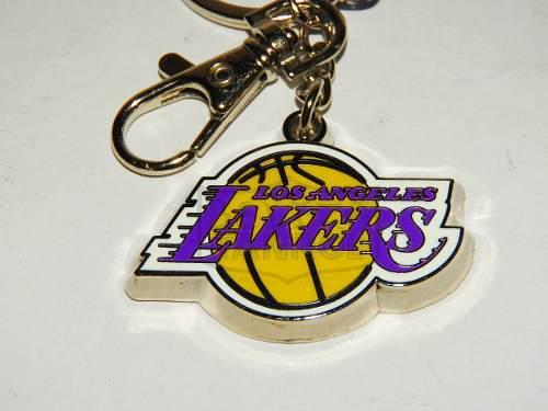 Llavero Metalico Logo Los Angeles Lakers