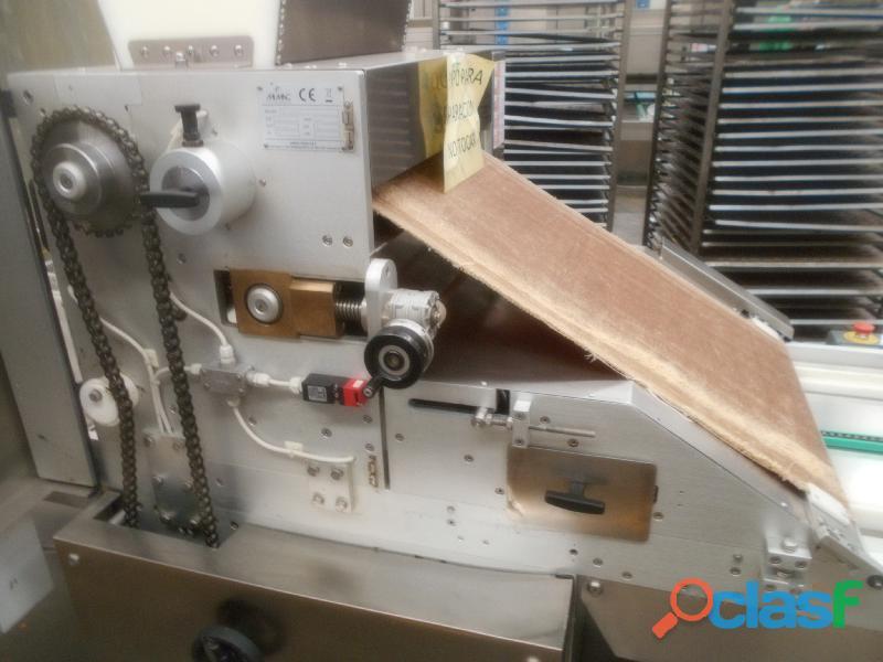 Maquina para elaboración de galletas