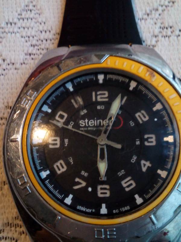 Reloj STEINER deportivo cuarzo