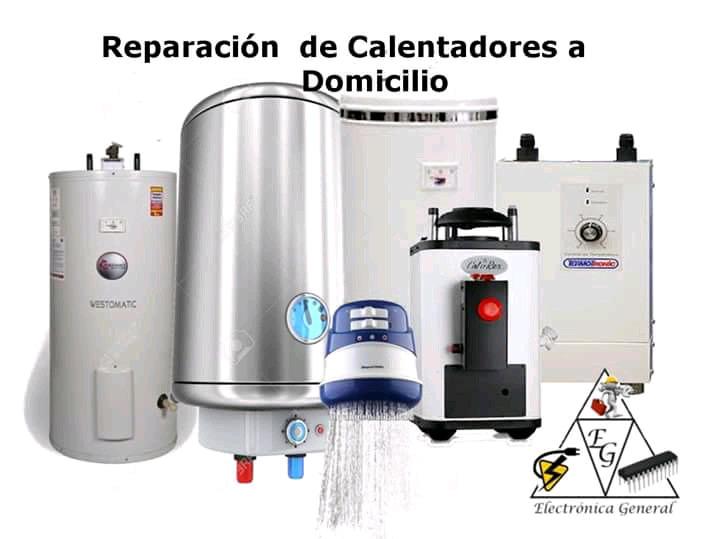 Reparación e instalación de calentadores a gas, electrivos