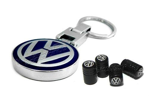 Set Llavero Coleccion Volkswagen, Tapas Aire Llanta, Gol, Up