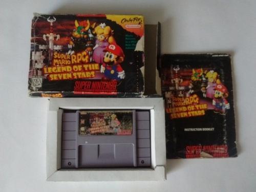 Super Mario Rpg Snes Completo Super Nintendo C Envio Gratis