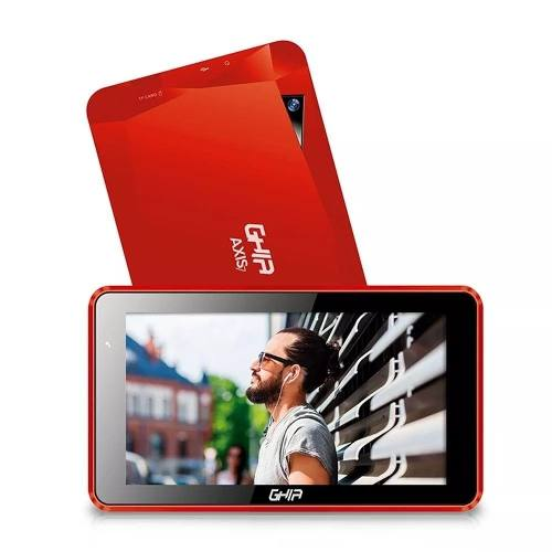 Tablet Tr Android 7 Wifi Roja Ghia Axis7