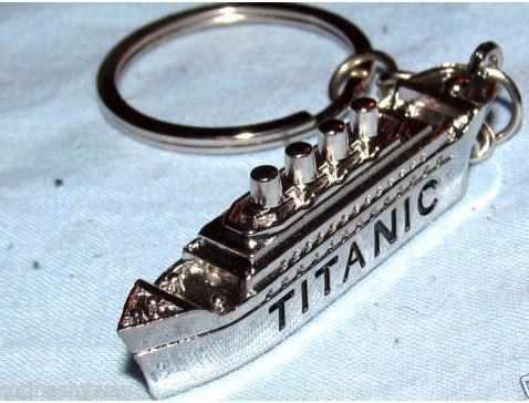 Titanic Precioso Llavero Metalico Barco Titanic 0875