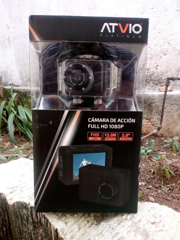 Camara de accion ATVIO tipo GOPRO 12MPX