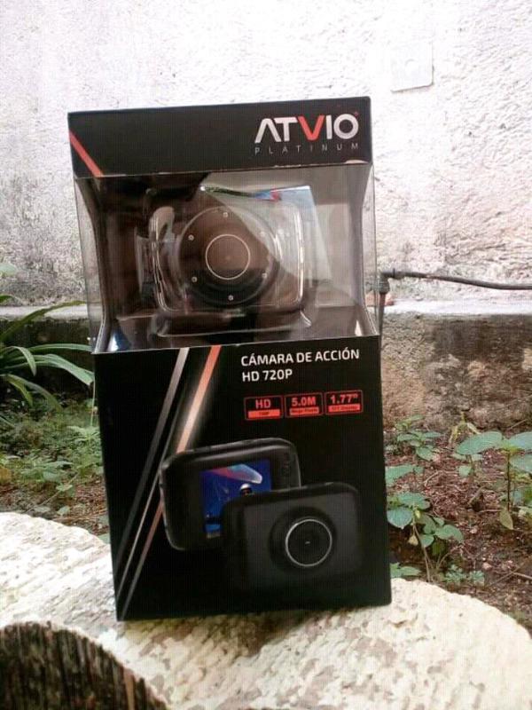 Camara de accion ATVIO tipo GOPRO 5MPX