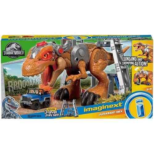Dinosaurio Colosal Tyrannosaurus Rex T Rex Imaginext