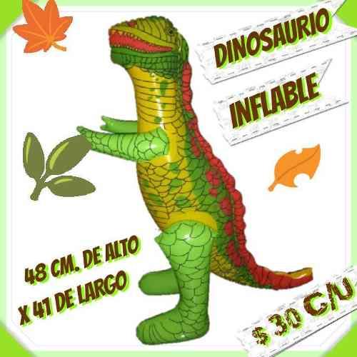 Dinosaurio Inflable Verde Grande Por Mayoreo O Menudeo