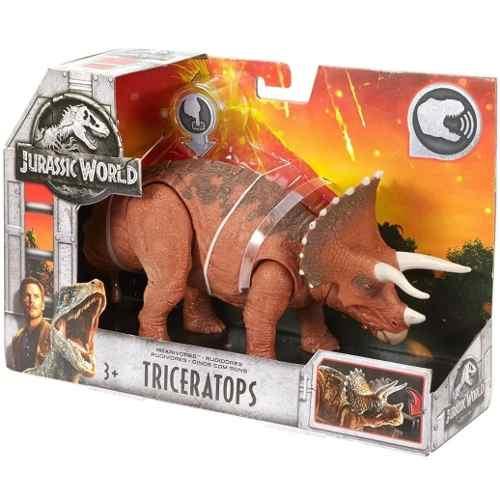 Dinosaurio Jurassic World Triceratops Nuevo Con Sonido