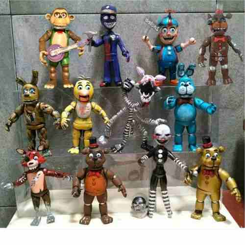 Five Nights At Freddy's Colección 12 Personajes