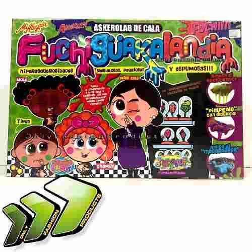 Fuchiguakalandia Mi Alegria Distroller Fabrica De Slime Moco