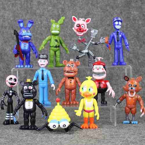 Gran Colección 12 Figuras Five Nights At Freddy's