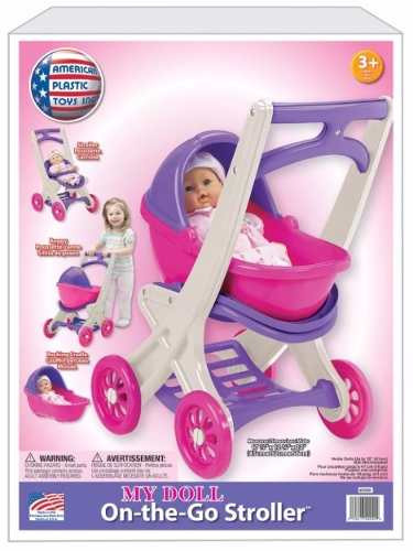 My Doll 3 In 1 Stroller Carreola Carriola Juguete