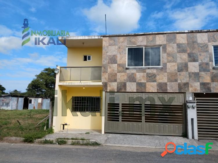 Rento casa 3 rec Col. Loma Linda Tuxpan Veracruz, Loma Linda